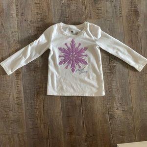 Disney Frozen Toddler Girl Long Sleeve T-Shirt
